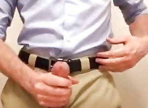Amateur (Gay);Hunk (Gay);Masturbation (Gay);Skinny (Gay) Jerk Off at Work