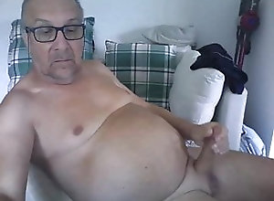 Amateur (Gay);Big Cock (Gay);Daddy (Gay);Fat (Gay);Handjob (Gay);Masturbation (Gay);Webcam (Gay);Gay Webcam (Gay);Gay Cam (Gay) Daddy strokes on cam