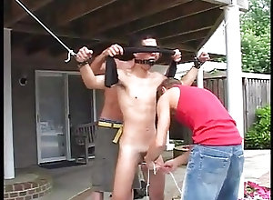 Gay Porn (Gay);Bareback (Gay);BDSM (Gay);Blowjobs (Gay);Outdoor (Gay) 3 hot gays play a...