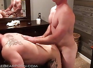 Bareback (Gay);Bear (Gay);Big Cock (Gay);Blowjob (Gay);Muscle (Gay);Anal (Gay) Three horny bears