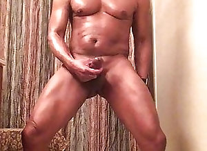 Black (Gay);Amateur (Gay);Big Cock (Gay);Hunk (Gay);Masturbation (Gay);Muscle (Gay);Sex Toy (Gay);HD Videos Post Workout Get Off