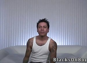 big cock,blowjob,hardcore,interracial,ebony,gay Tattooed amateur...