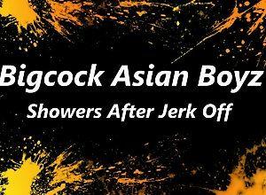 big cock,teen,asian,gay,shower Asian Boyz Shower...
