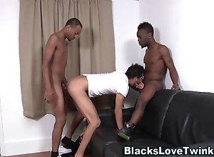 anal,blowjob,hardcore,sucking,black,tattoo,threesome Black guys...