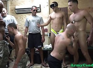 gay,group,masturbation,orgy Military muscle...