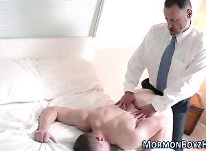 anal,cumshot,hardcore,masturbation Mormon elder gets...