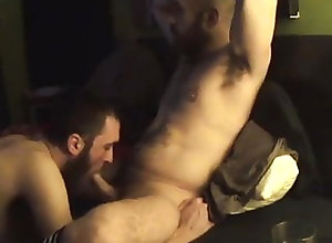Amateur (Gay);Blowjob (Gay);Daddy (Gay);Couple (Gay) Chill-out BJ -...