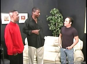 blowjob,hardcore,black,ebony,threesome,latino Black men sharing...