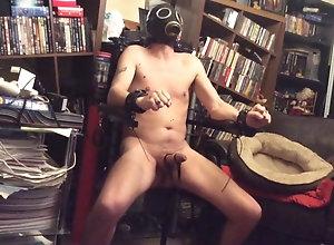Men (Gay) E-stim in new chair