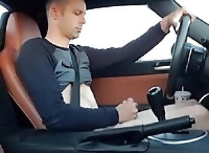 Amateur (Gay);Handjobs (Gay);Masturbation (Gay);HD Gays;In the Car;In Car;Car;Licking Stroking &...