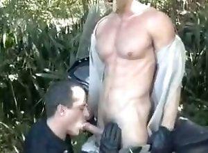 Gay,Gay Outdoor,Gay Muscled,Gay Uniform,gay,uniform,outdoor,men,muscled,blowjob,gay porn Gay Cop Bodybuilders