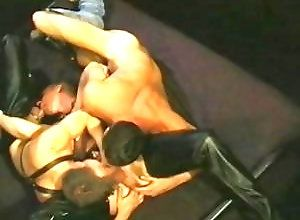 Gay,Gay Threesome,Gay Blowjob,Gay Muscled,Gay Fetish,leather fetish,ass shot,muscled,men,gay fuck gay,gay porn,doggy style,blowjob,threesome,gay Hand Over Fist,...