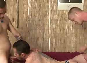 Gay,Gay Blowjob,Gay Threesome,gay,doggy style,blowjob,tattoo,underwear,threesome,gay fuck gay,gay porn Damon Dogg with...