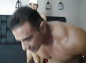 Hunk (Gay);Latino (Gay);Muscle (Gay);Small Cock (Gay);Gay Male (Gay);Gay Men (Gay);Gay Guys (Gay) Two Nude Hunks - 152