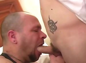 Gay,Gay Blowjob,gay,blowjob,deep throat,faced down,men,bedroom,ball licking,gay  porn Wolf Hudson and Sam