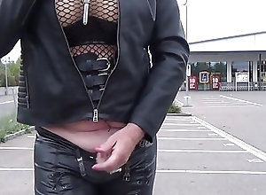 Crossdressers (Gay);Outdoor (Gay);HD Gays MarcelinaTV outdoor