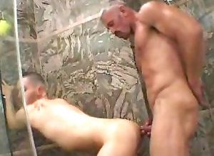 Gay,Gay Bath/Shower,Gay Daddy,Gay Muscled,gay,muscled,daddy,shower,doggy style,ass fingering,young men,gay fuck gay,gay porn Gays Having Sex...
