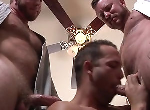 Gay,Gay Threesome,Gay Muscled My Two Daddies...