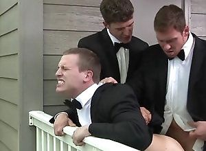 Gay,Gay Threesome,Gay Outdoor,Str8 to Gay,gay,outdoor,gay fuck gay,men,blowjob,gay porn The Groomsmen...