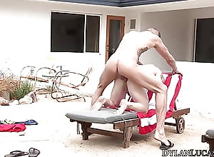 Blowjob (Gay);Hunk (Gay);HD Videos;Anal (Gay) Blond homo Leo...