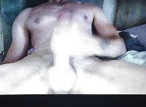 Big Cock (Gay);Cum Tribute (Gay);Masturbation (Gay);Muscle (Gay);Webcam (Gay);HD Videos Hot muscle guy...
