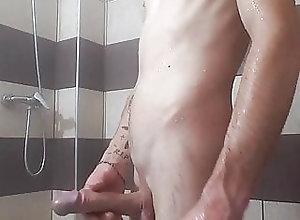 Man (Gay);HD Videos Shower relaxing