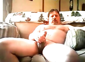 Bears (Gay);Daddies (Gay) Beefy on couch 9817