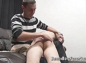 Twink (Gay);Spanking (Gay);British Boys Fetish Club (Gay);Gay Spanking (Gay);HD Videos Eric plays up