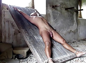 BDSM (Gay);Hunk (Gay);Muscle (Gay);Outdoor (Gay);HD Videos Tied at the castle