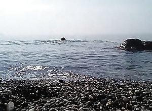 Beach (Gay);Outdoor (Gay);HD Gays naked swimming