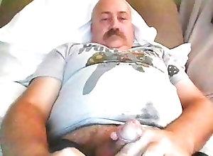 Bear (Gay);Daddy (Gay);Masturbation (Gay);Webcam (Gay);Gay Daddy (Gay);Gay Webcam (Gay);Gay Cam (Gay) Dad Cums on Cam