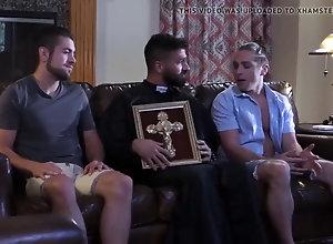 Big Cock (Gay);Blowjob (Gay);Straight Gay (Gay);Anal (Gay);Couple (Gay);HD Videos Frightened...