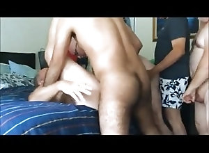 Bareback (Gay);Daddies (Gay);Group Sex (Gay) Orgy with Mature...
