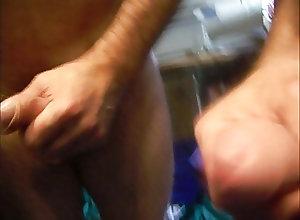 Men (Gay) cumshot spritzen...