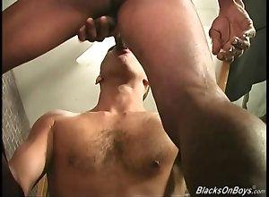 big cock,hardcore,interracial,gay,threesome,latino Black men sharing...