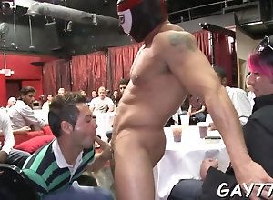blowjob,hardcore,public,gay,party stripper with a...