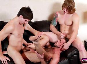 anal,bareback,blowjob,gay,threesome A Plan to Change...