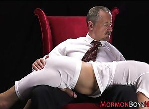 bdsm,handjob,masturbation,spanking,twink Mormon gets ass...