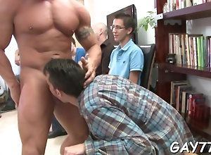 blowjob,hardcore,public,gay,party Muscled stripper...