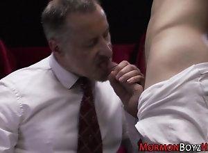 spanking,twink,underwear,uniform Mormon gets ass...