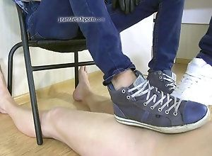 fetish,gay,sexy,slave,jeans having a fetish...