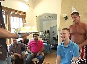 blowjob,hardcore,public,gay,party,striptease Birthday boy gets...
