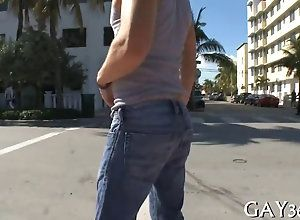 blowjob,hardcore,public,gay his ass gets to...