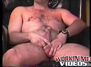 Gay Porn (Gay);Amateur (Gay);Big Cocks (Gay);Handjobs (Gay);Masturbation (Gay);Workin Men Videos (Gay) Hairy old pervert...