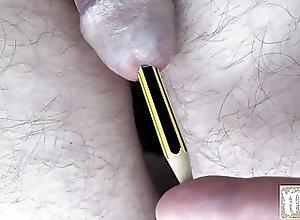 Amateur (Gay);BDSM (Gay);Sex Toy (Gay);HD Videos;Urethral Sounding (Gay);Urethra Play (Gay) Pencil in my urethra