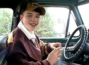Gay,Gay Twink,jeremiah johnson,solo,fetish,masturbation,smoking,clothed,american,twink,public,gay car Jeremiah In His...