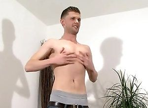 Gay,Gay Masturbation Solo,interview,masturbation,british,cum jerking off,solo,young men,gay Jake Holter -...