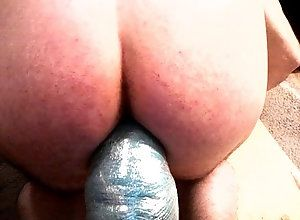 anal,dildo,ass,huge,whore,gay,stretched,Gay ass stretched...