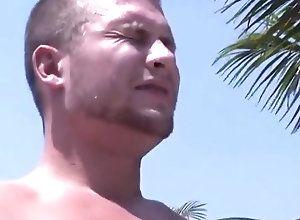 Gay,Gay Outdoor,Gay Hunk,gay,pool,outdoor,hunk,blowjob,gay porn Hayden Richards...