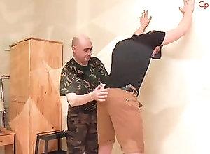 Spanking (Gay) Cadet Punishment...